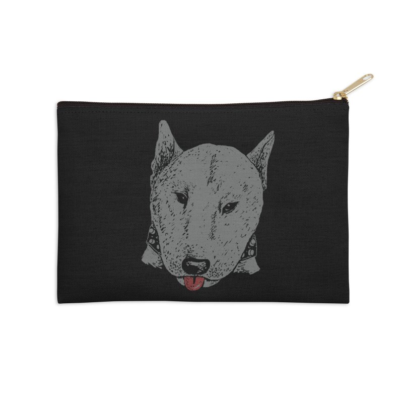 Stick Your Tongue Out Accessories Zip Pouch by YaaH
