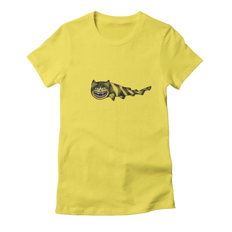 Catshark Women's Fitted T-Shirt by YaaH