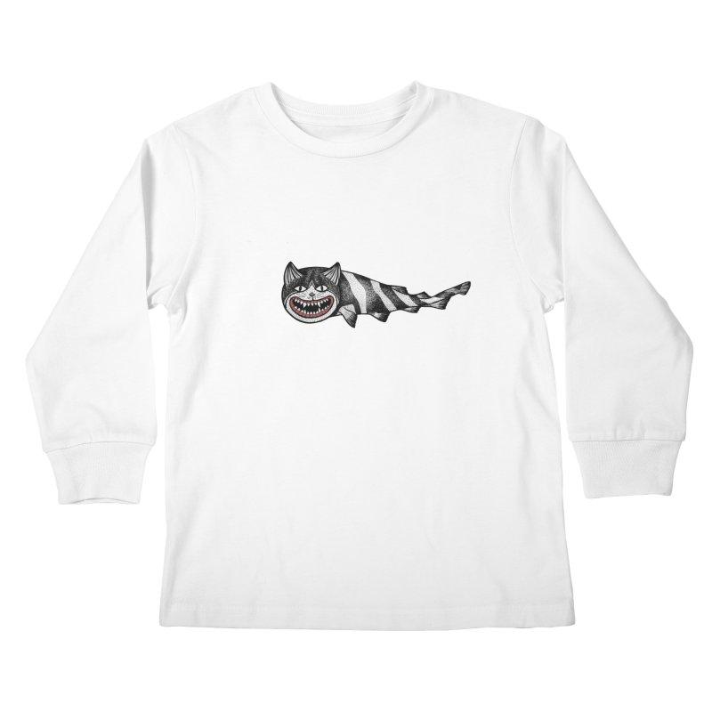 Catshark Kids Longsleeve T-Shirt by YaaH