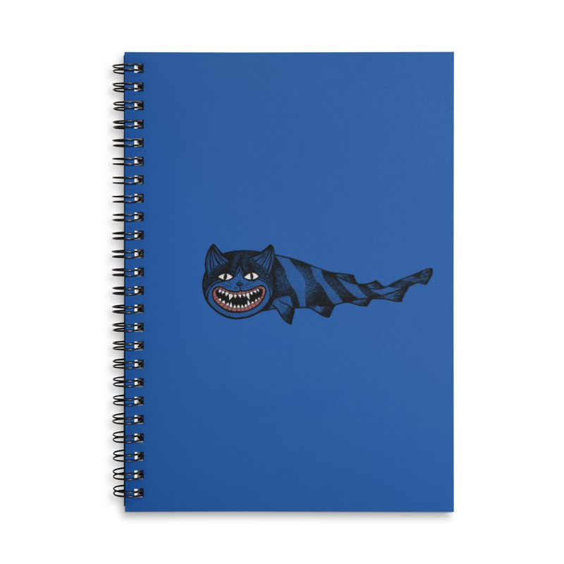 Catshark Accessories Lined Spiral Notebook by YaaH