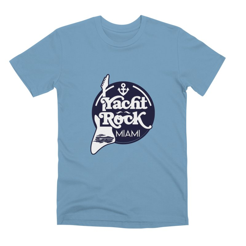 Yacht Rock Miami Men's Premium T-Shirt by yachtrockmiami's Artist Shop