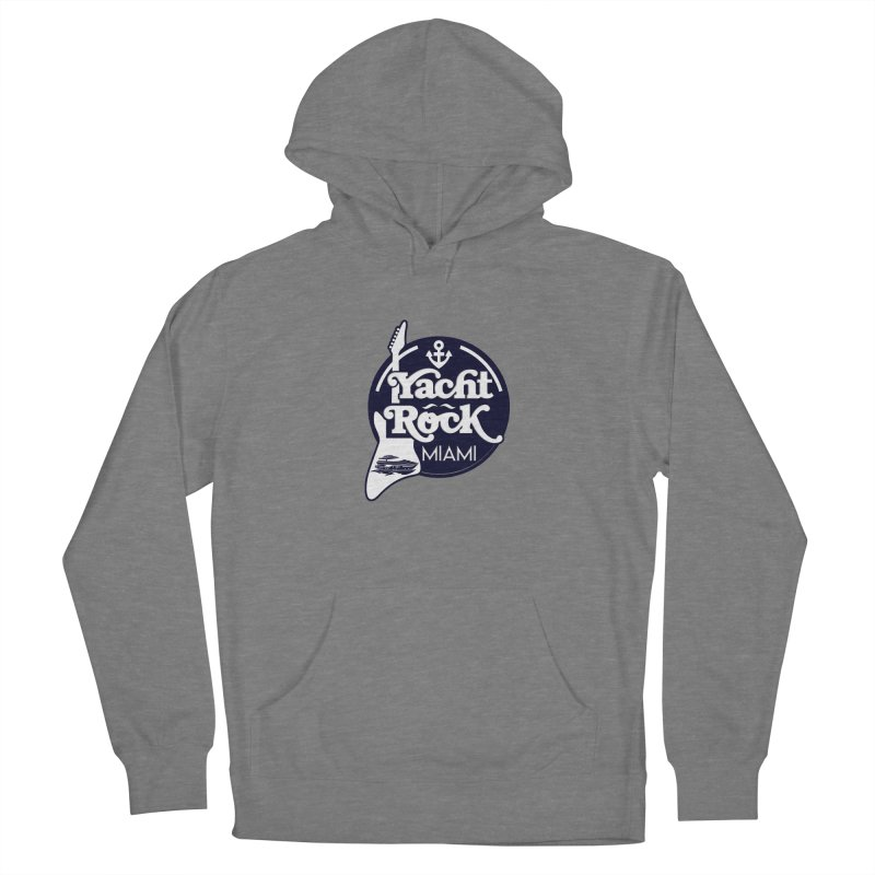 Yacht Rock Miami Men's French Terry Pullover Hoody by yachtrockmiami's Artist Shop