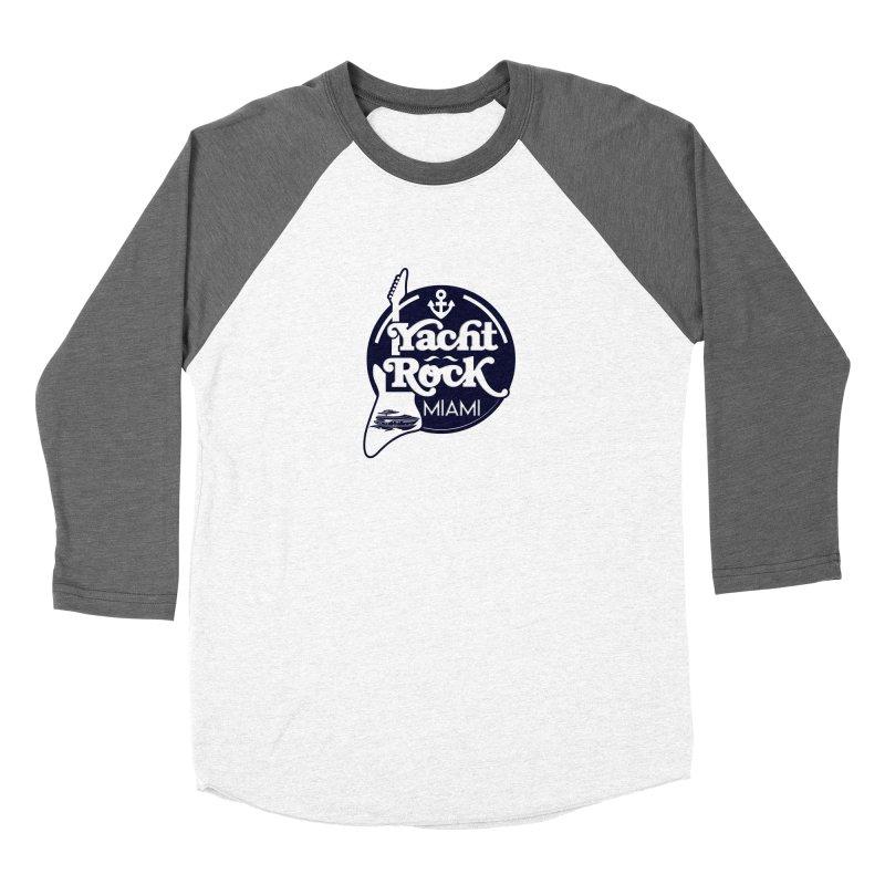 Yacht Rock Miami Women's Baseball Triblend Longsleeve T-Shirt by yachtrockmiami's Artist Shop