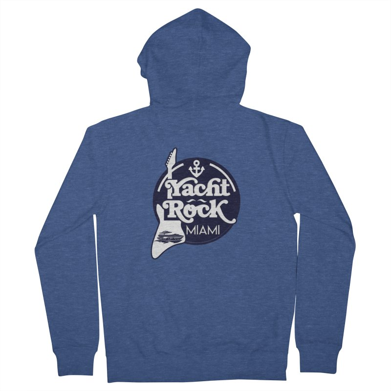 Yacht Rock Miami Women's French Terry Zip-Up Hoody by yachtrockmiami's Artist Shop