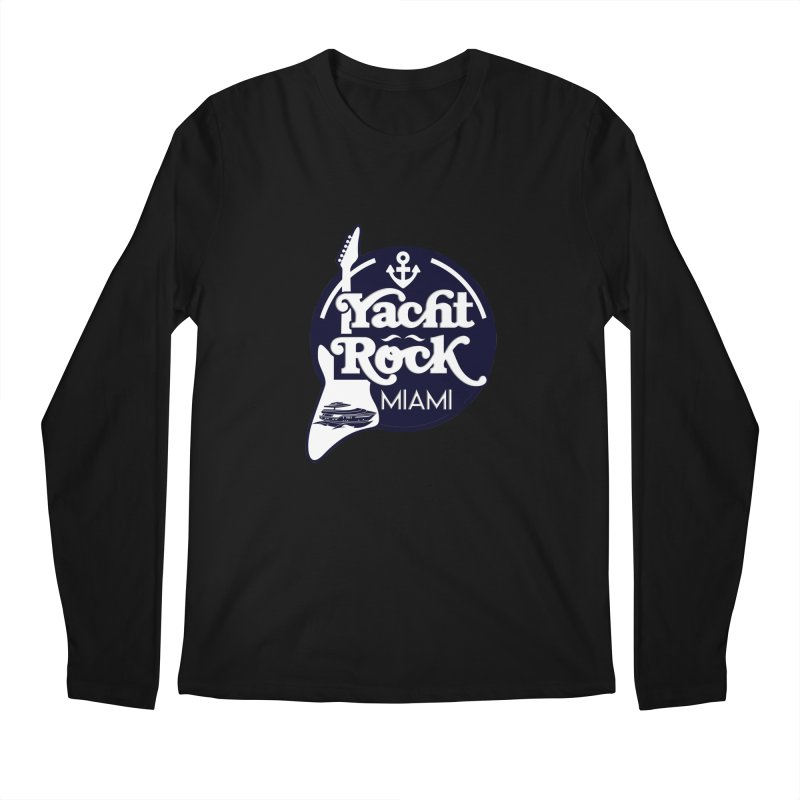 Yacht Rock Miami Men's Regular Longsleeve T-Shirt by yachtrockmiami's Artist Shop