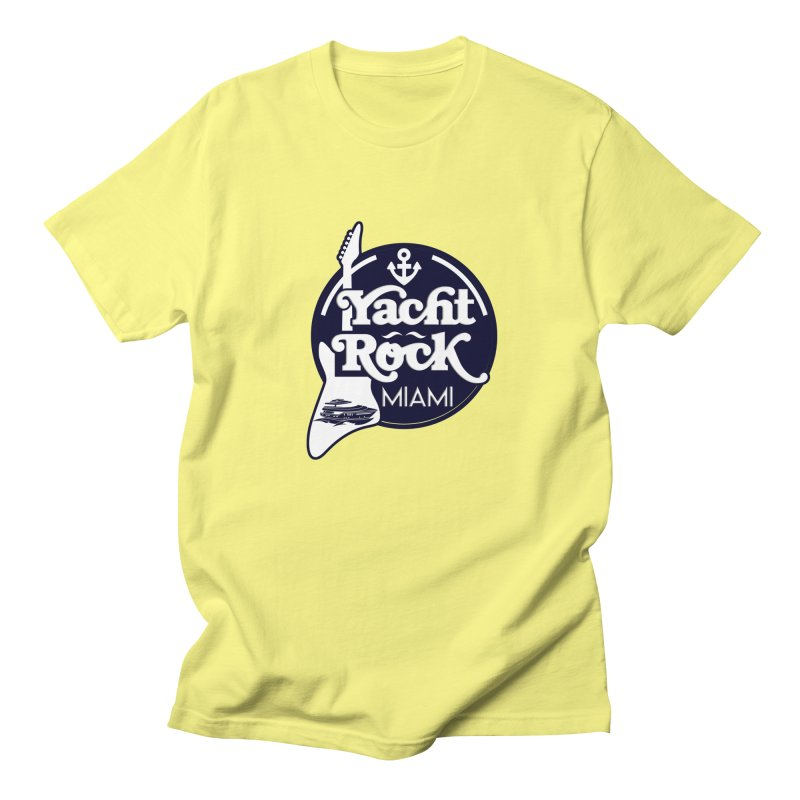 Yacht Rock Miami Women's Regular Unisex T-Shirt by yachtrockmiami's Artist Shop
