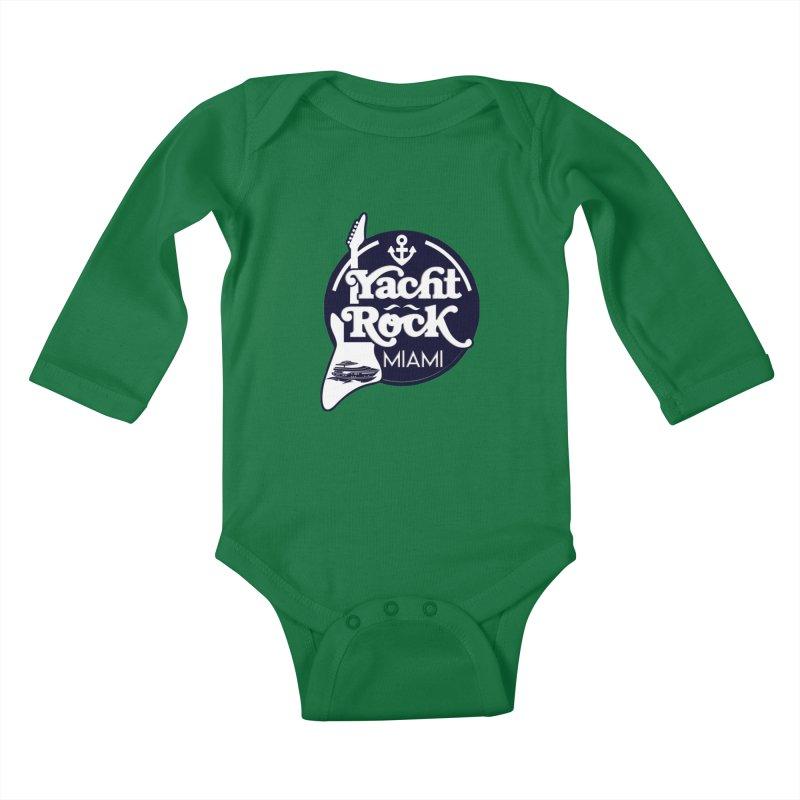 Yacht Rock Miami Kids Baby Longsleeve Bodysuit by yachtrockmiami's Artist Shop
