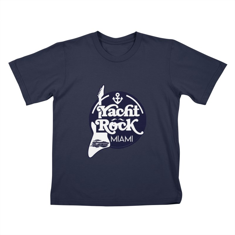 Yacht Rock Miami Kids T-Shirt by yachtrockmiami's Artist Shop