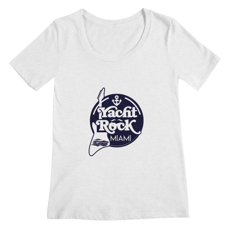 Yacht Rock Miami Women's Regular Scoop Neck by yachtrockmiami's Artist Shop