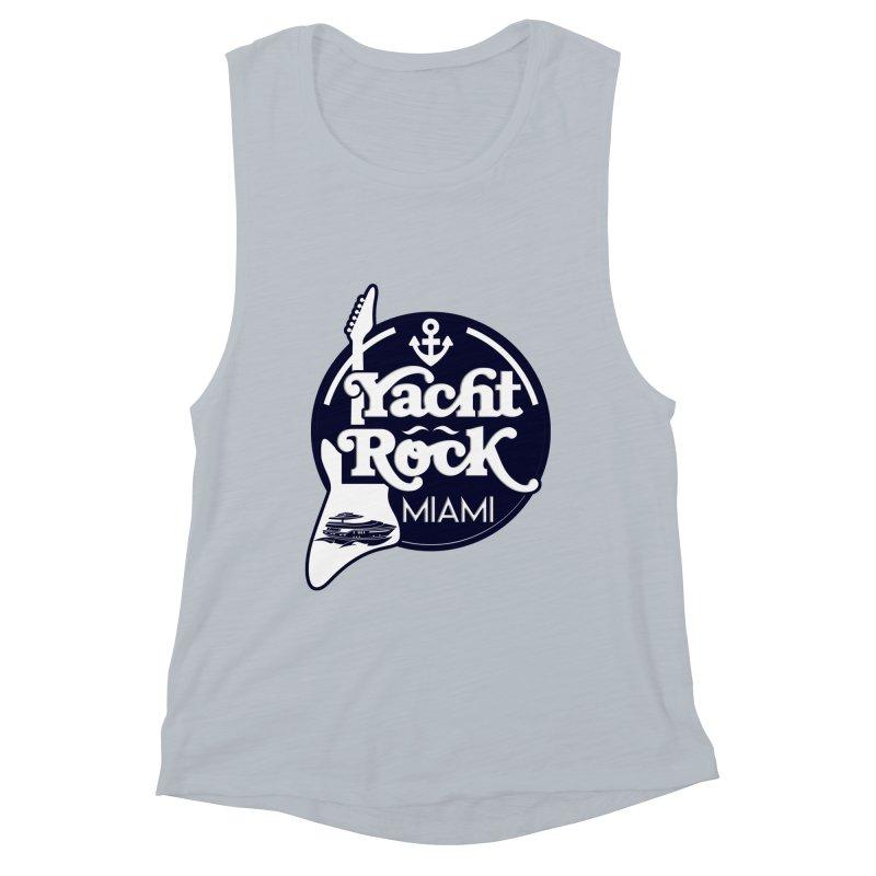 Yacht Rock Miami Women's Muscle Tank by yachtrockmiami's Artist Shop