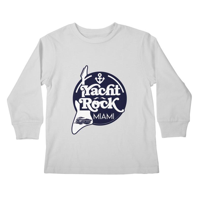 Yacht Rock Miami Kids Longsleeve T-Shirt by yachtrockmiami's Artist Shop
