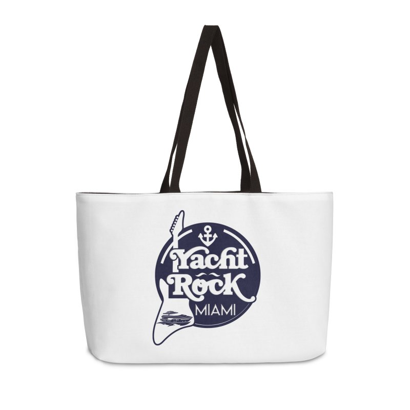 Yacht Rock Miami Accessories Weekender Bag Bag by yachtrockmiami's Artist Shop