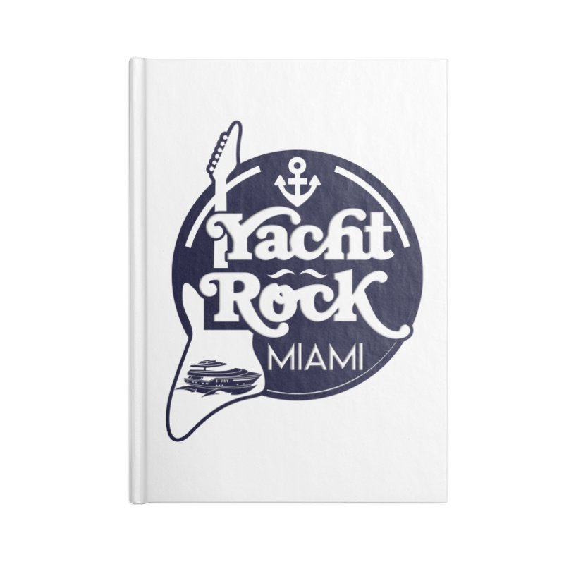 Yacht Rock Miami Accessories Blank Journal Notebook by yachtrockmiami's Artist Shop