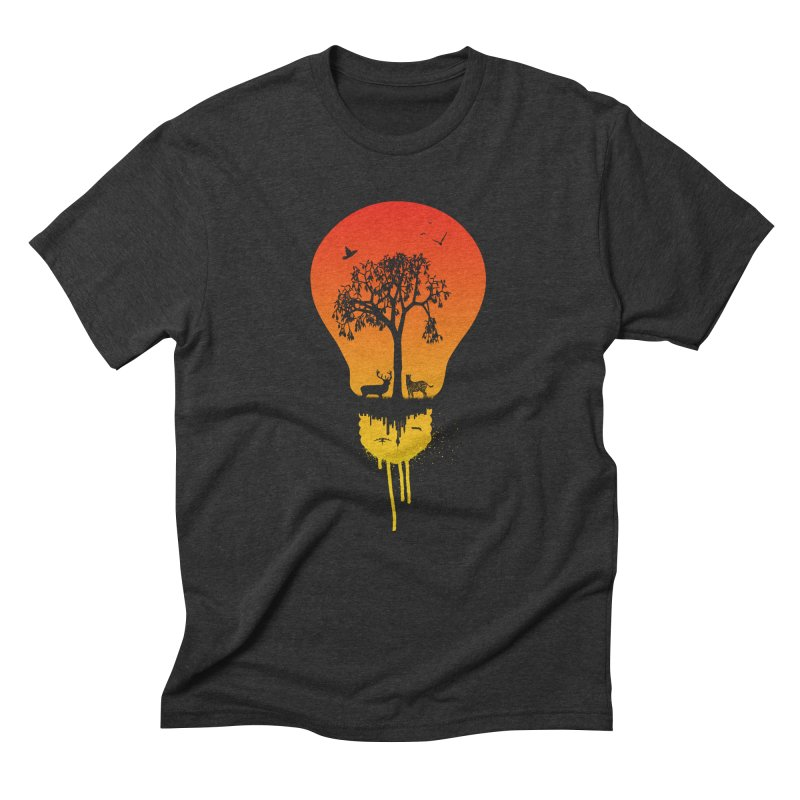 The Two worlds Men's T-Shirt by yakitoko's Artist Shop
