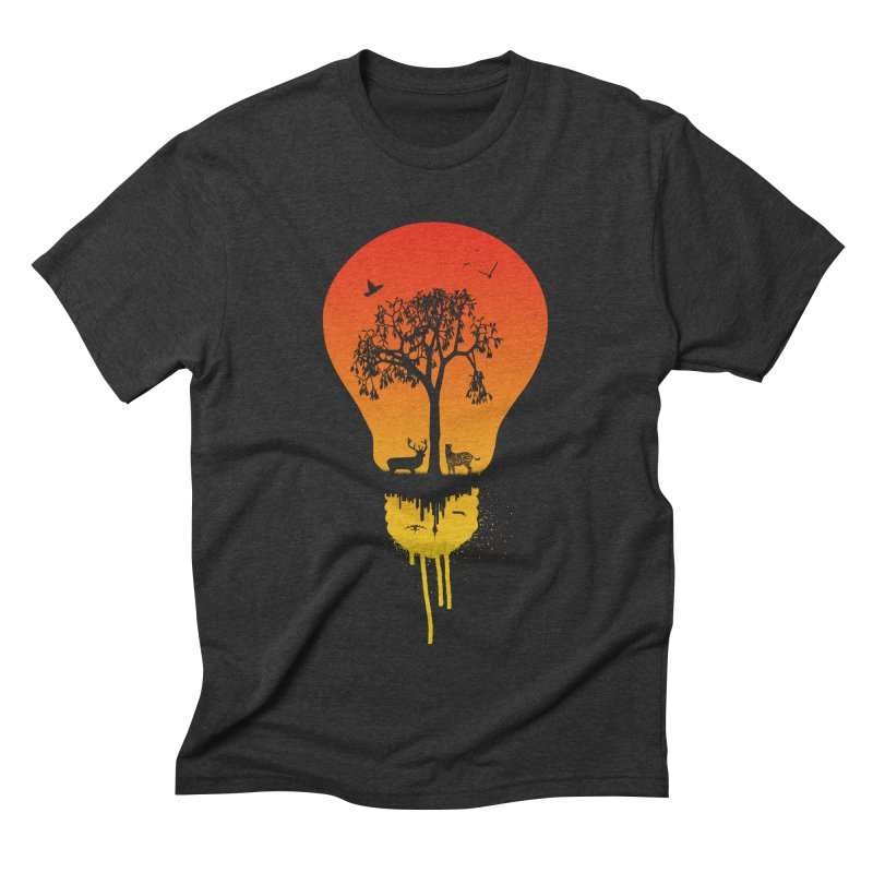 The Two worlds Men's Triblend T-shirt by yakitoko's Artist Shop