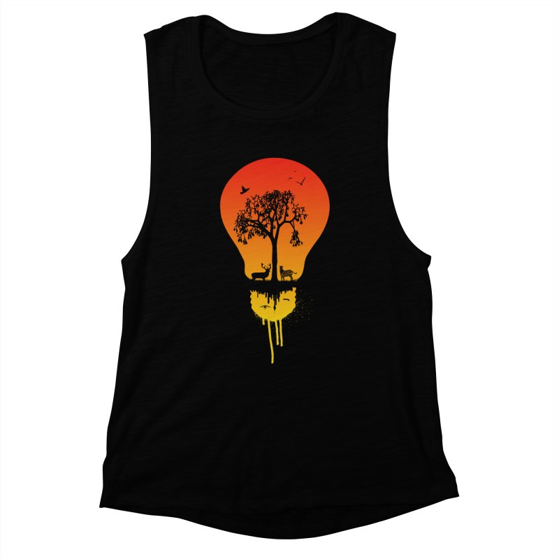 The Two worlds Women's Muscle Tank by yakitoko's Artist Shop