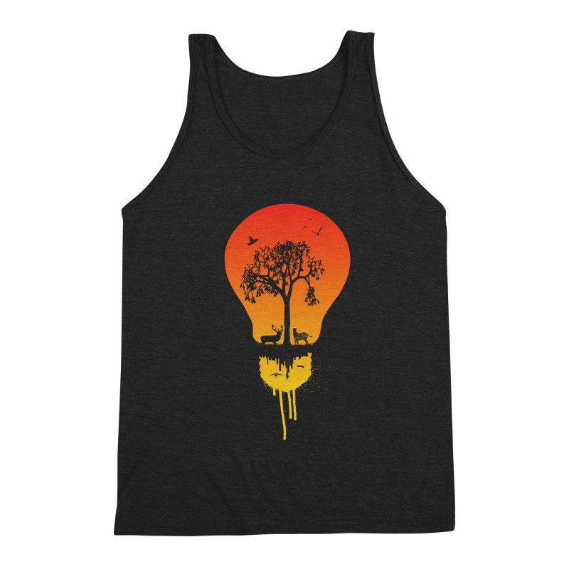 The Two worlds Men's Triblend Tank by yakitoko's Artist Shop