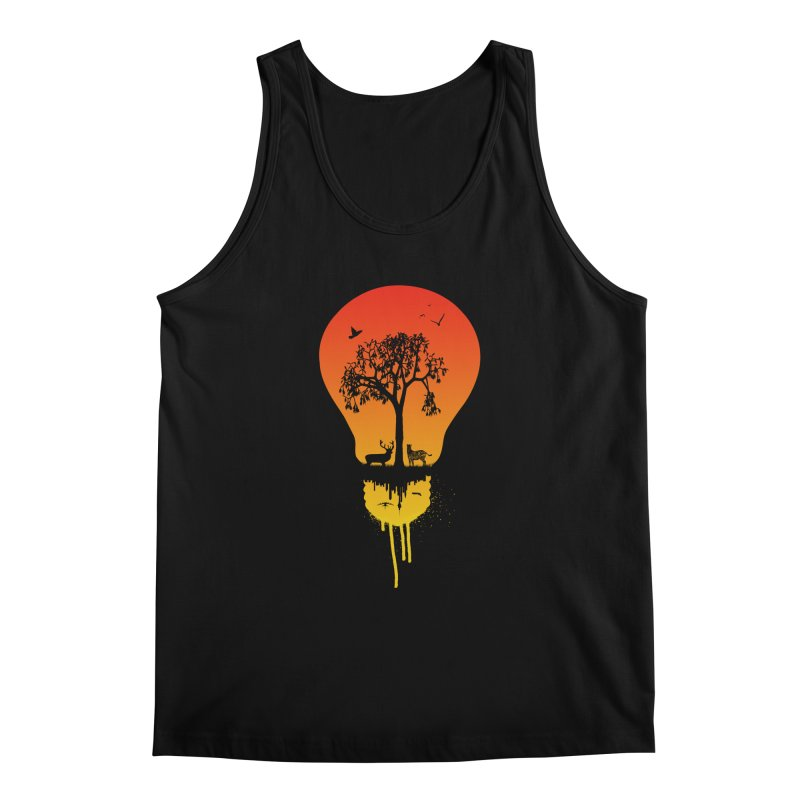 The Two worlds Men's Regular Tank by yakitoko's Artist Shop