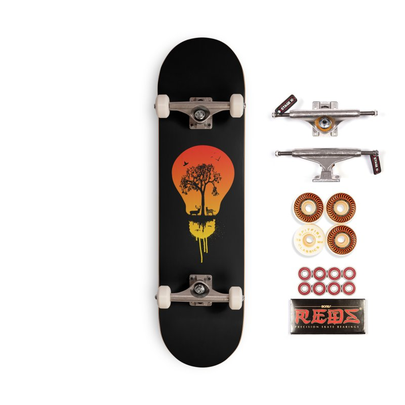 The Two worlds Accessories Skateboard by yakitoko's Artist Shop
