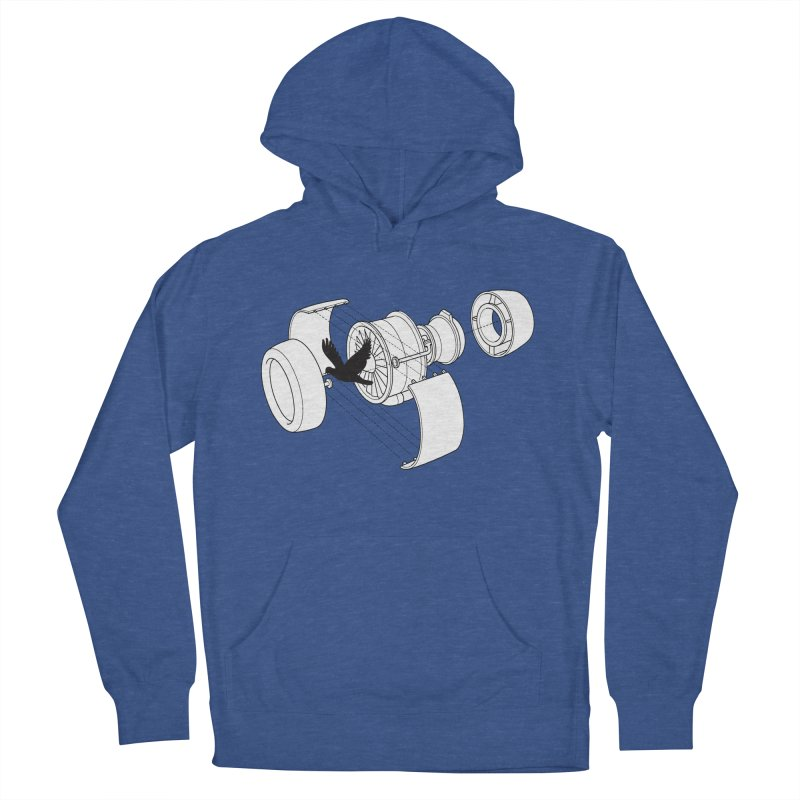Jet engine victim Women's Pullover Hoody by yakitoko's Artist Shop