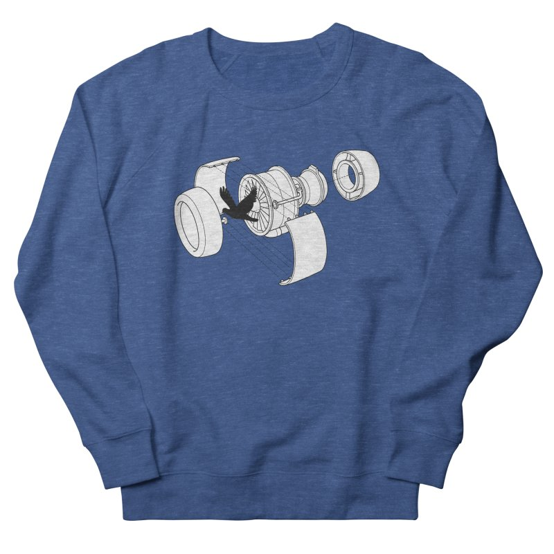 Jet engine victim Women's Sweatshirt by yakitoko's Artist Shop