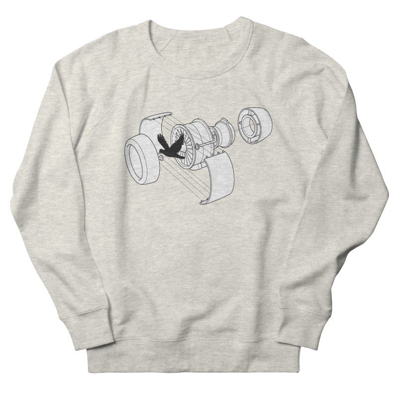 Jet engine victim Men's Sweatshirt by yakitoko's Artist Shop