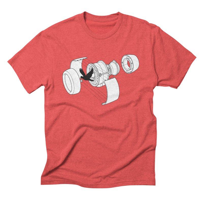 Jet engine victim Men's Triblend T-Shirt by yakitoko's Artist Shop