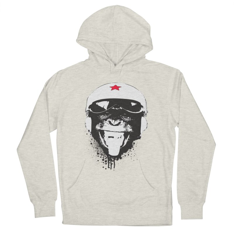 Flying Monkey Women's French Terry Pullover Hoody by yakitoko's Artist Shop