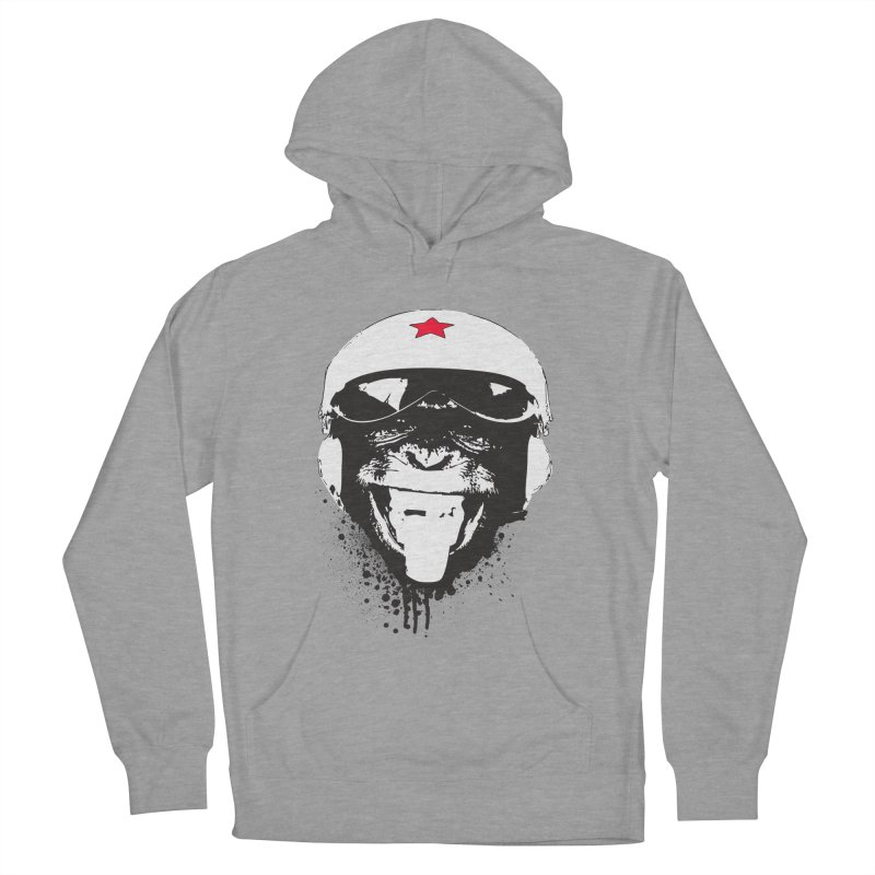 Flying Monkey Men's French Terry Pullover Hoody by yakitoko's Artist Shop
