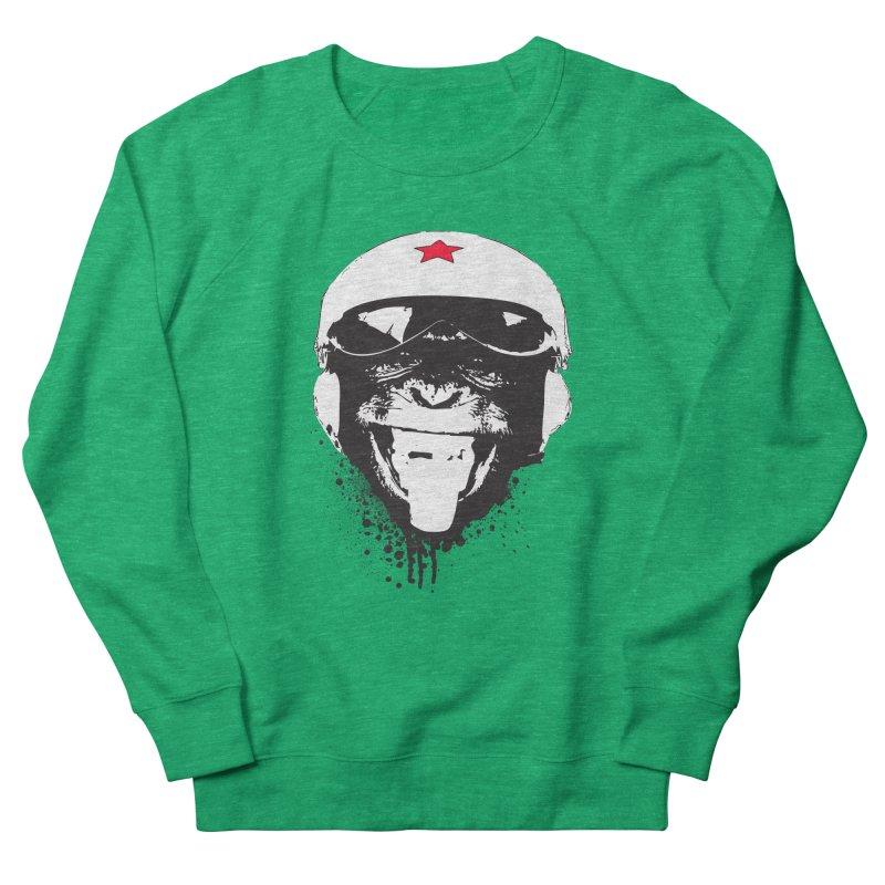 Flying Monkey Women's French Terry Sweatshirt by yakitoko's Artist Shop
