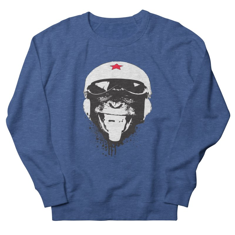 Flying Monkey Women's French Terry Sweatshirt by yakitoko's Artist Shop
