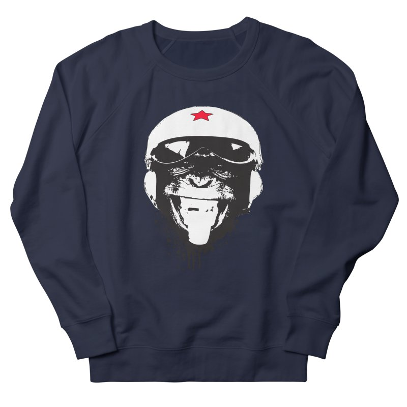 Flying Monkey Men's French Terry Sweatshirt by yakitoko's Artist Shop