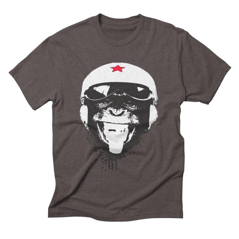 Flying Monkey Men's Triblend T-shirt by yakitoko's Artist Shop