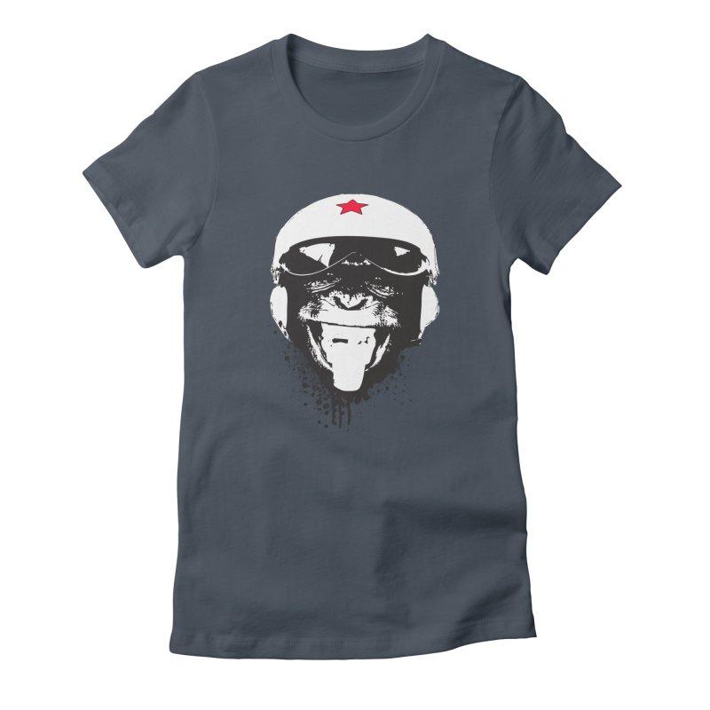 Flying Monkey Women's T-Shirt by yakitoko's Artist Shop