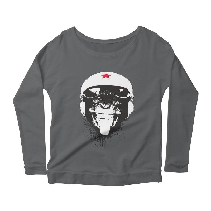 Flying Monkey Women's Longsleeve T-Shirt by yakitoko's Artist Shop