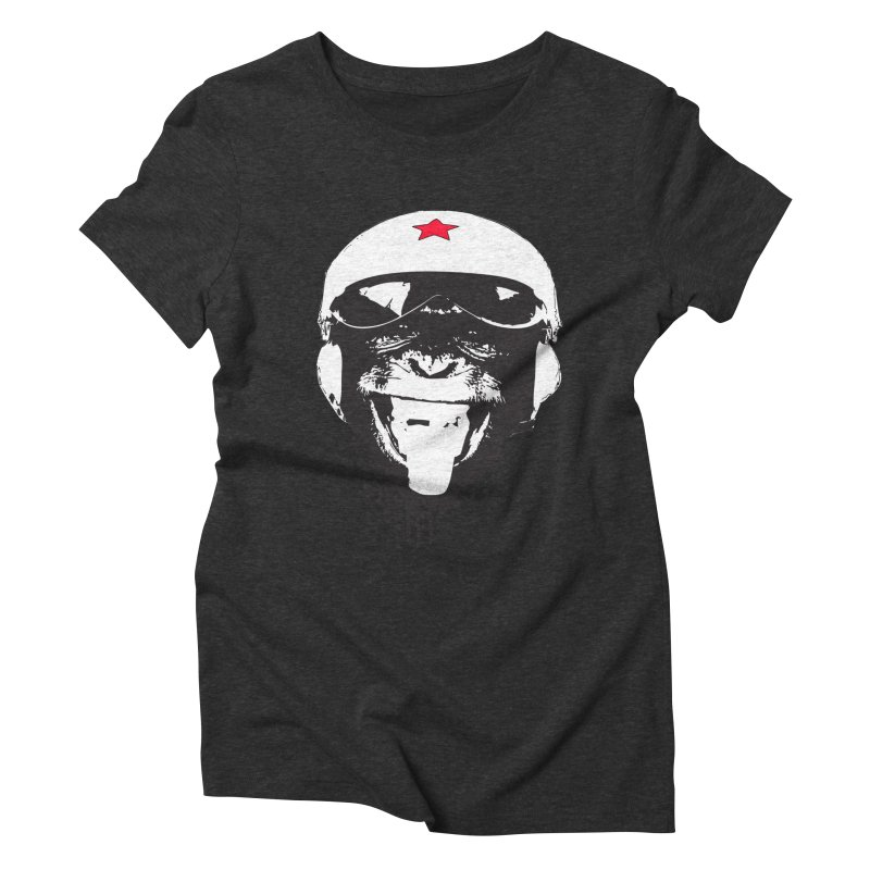 Flying Monkey Women's Triblend T-shirt by yakitoko's Artist Shop