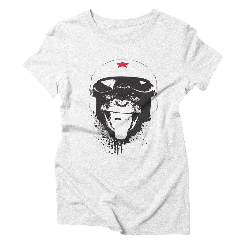 Flying Monkey Women's Triblend T-shirt by yakitoko's Artist Shop