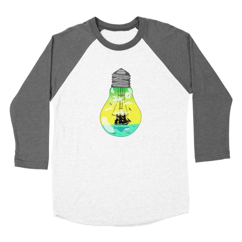 Sea travel Women's Longsleeve T-Shirt by yakitoko's Artist Shop