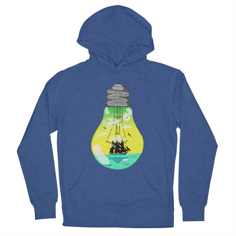 Sea travel Women's French Terry Pullover Hoody by yakitoko's Artist Shop