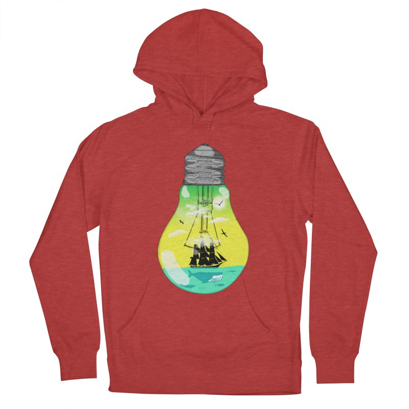 Sea travel Men's Pullover Hoody by yakitoko's Artist Shop