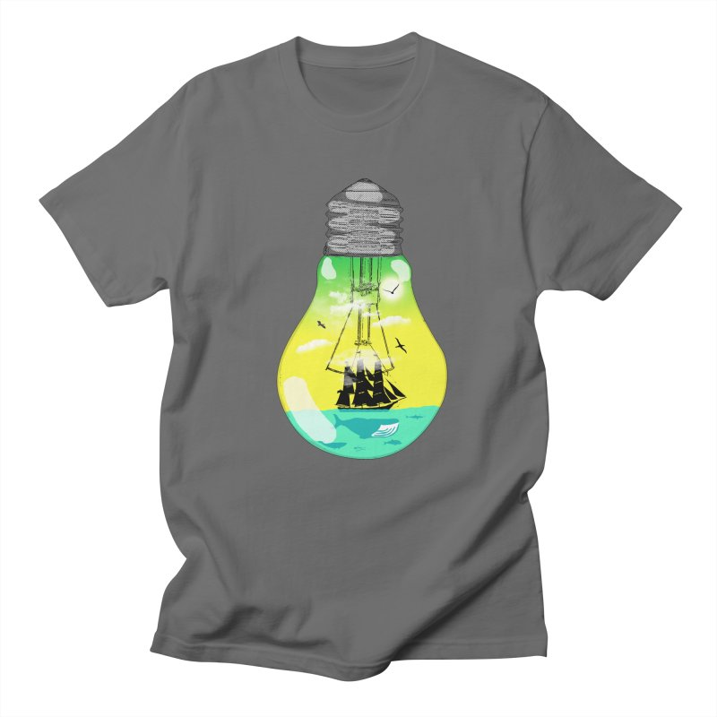 Sea travel Men's T-Shirt by yakitoko's Artist Shop