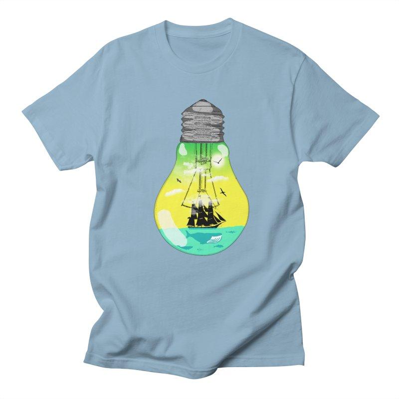 Sea travel Men's Regular T-Shirt by yakitoko's Artist Shop