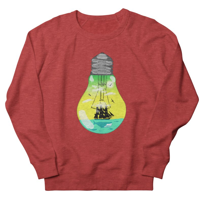 Sea travel Women's French Terry Sweatshirt by yakitoko's Artist Shop