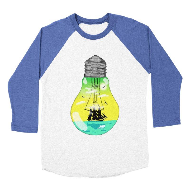 Sea travel Women's Baseball Triblend Longsleeve T-Shirt by yakitoko's Artist Shop