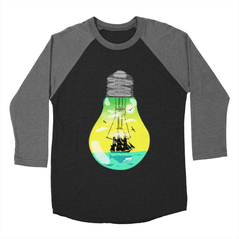 Sea travel Men's Baseball Triblend T-Shirt by yakitoko's Artist Shop