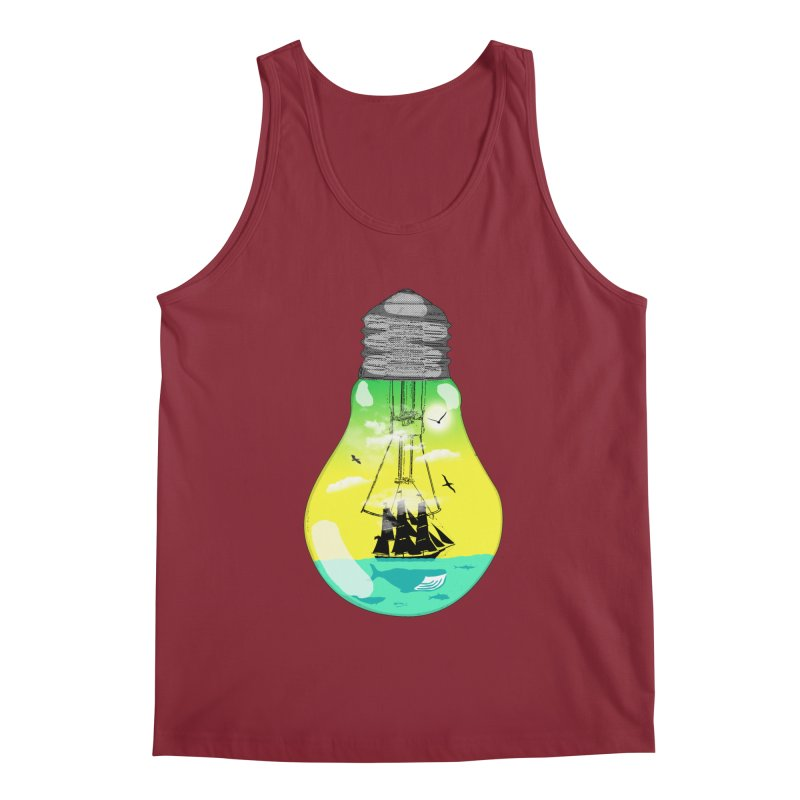 Sea travel Men's Tank by yakitoko's Artist Shop