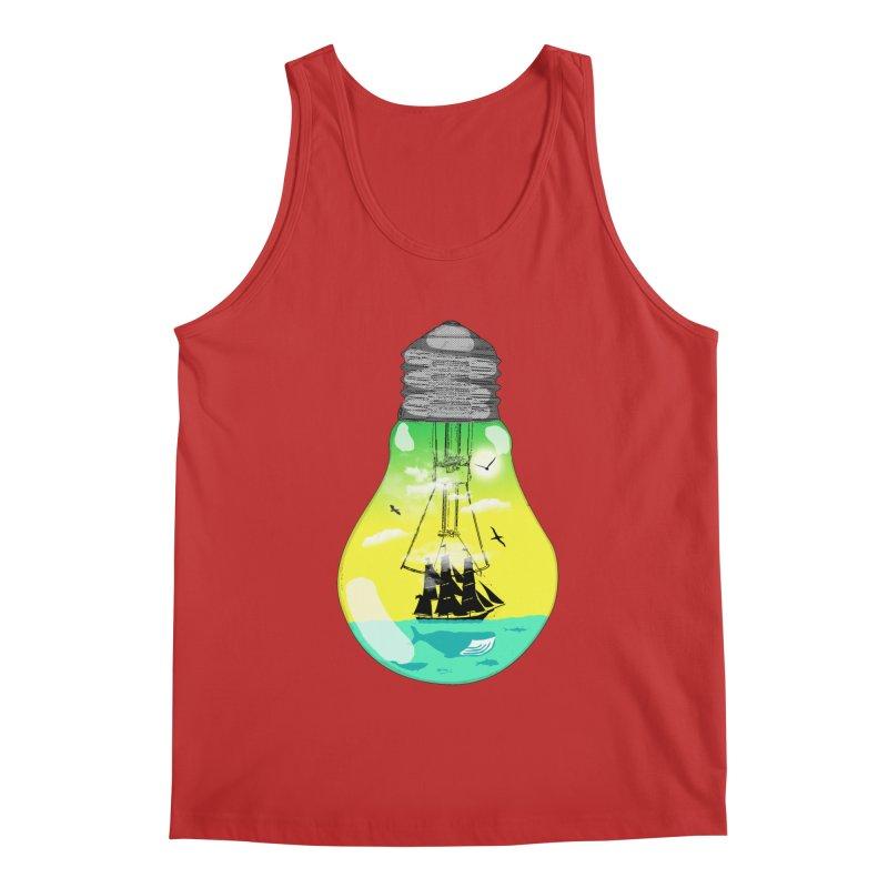 Sea travel Men's Regular Tank by yakitoko's Artist Shop