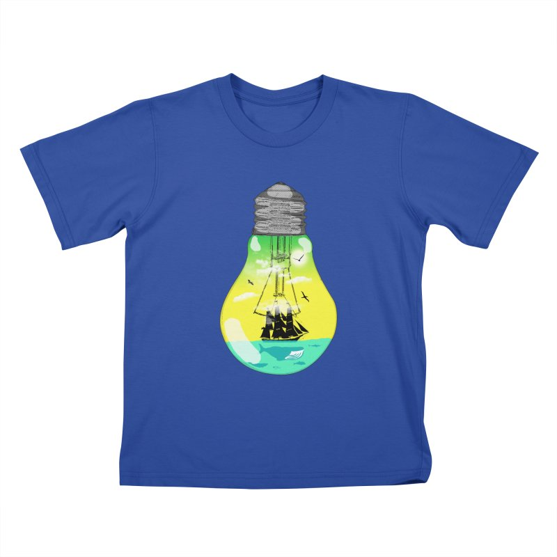 Sea travel Kids T-Shirt by yakitoko's Artist Shop