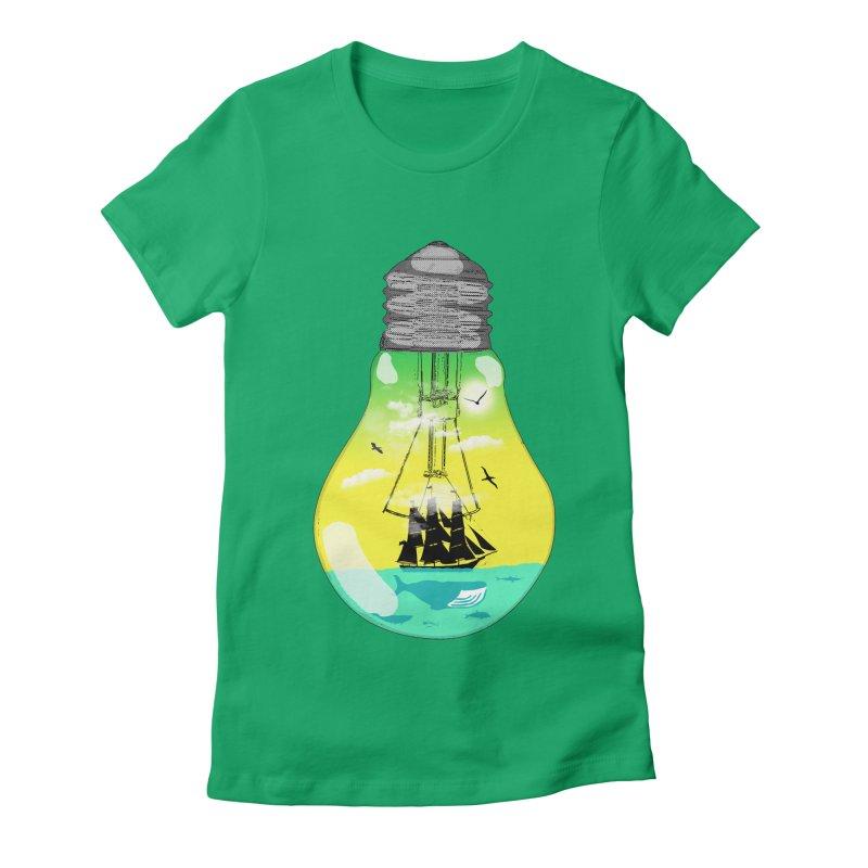 Sea travel Women's T-Shirt by yakitoko's Artist Shop