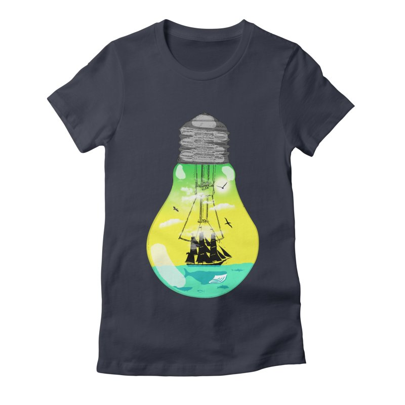 Sea travel Women's T-Shirt by yakitoko's Artist Shop